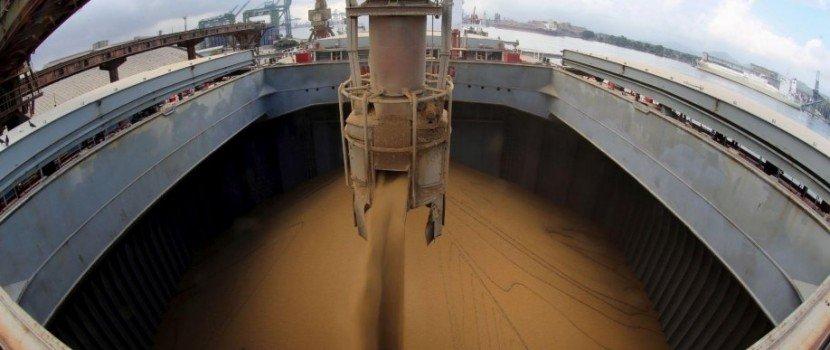 Anec reduz projeção de exportação de soja e chance de recorde em abril